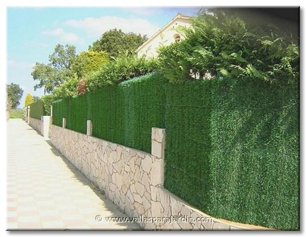 Vallas de jardin elegant valla de alambre en un lmite de - Vallas para jardin ...